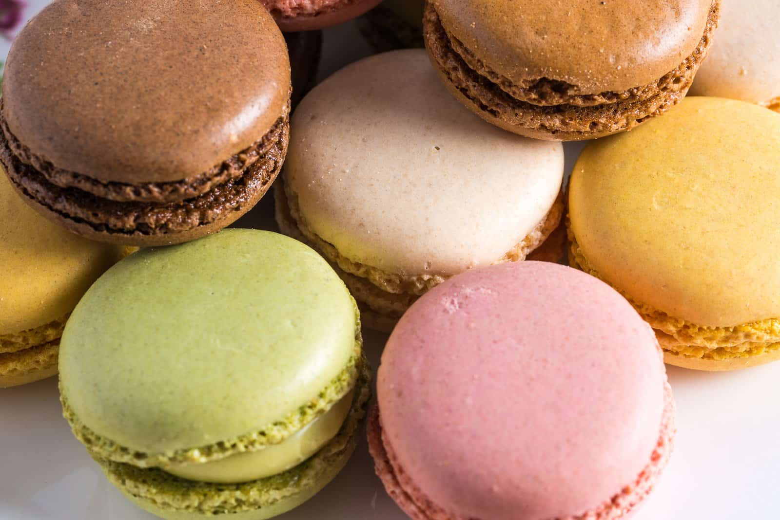 Macaron of all colours